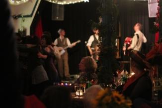 Leigh Delamere & his Gordano Skifflers, wedding - Penzance, Cornwall
