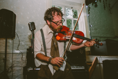 Leigh Delamere & his Gordano Skifflers, Wedding, Old Rectory, Pyworthy, Devon