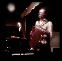 Leigh Delamere & his accordion