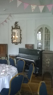 The Leigh Delamere pop-up upright piano, Trereife House, Cornwall
